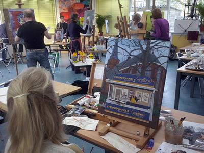 Amateurspalet-open atelier