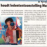 Artikel De Rijswijkse Courant 19-4-2017